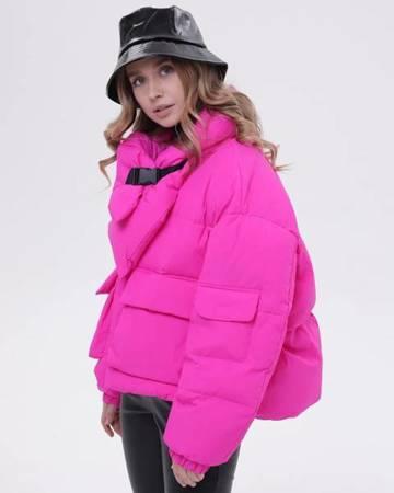 Kurtka Hot Pink Oversize Tuffoni