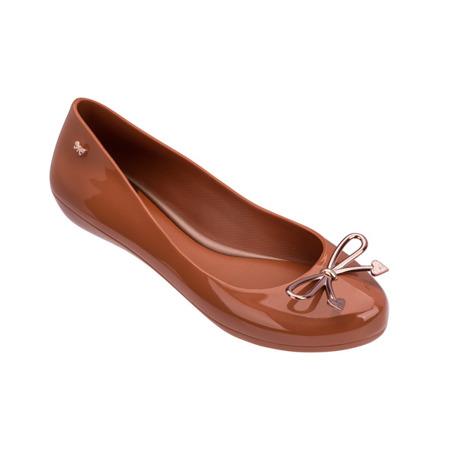Zaxy meliski balerinki Romatic brown / karmel
